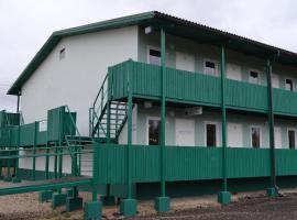Green Motell, Sauga