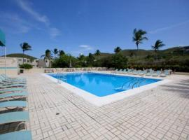 Upper End Condo with View on Sapphire Beach, East End