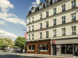 巴黎大街共和广场宜必思酒店