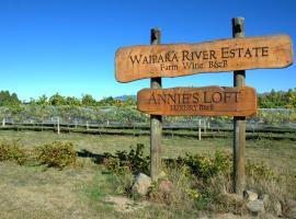 Annie's Loft and Studio, Waipara