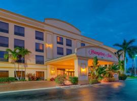 棕榈滩花园汉普顿旅馆, 棕榈滩花园