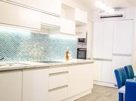 蓝色奢华公寓