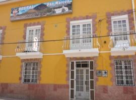 Hostal San Marcos, Potosí
