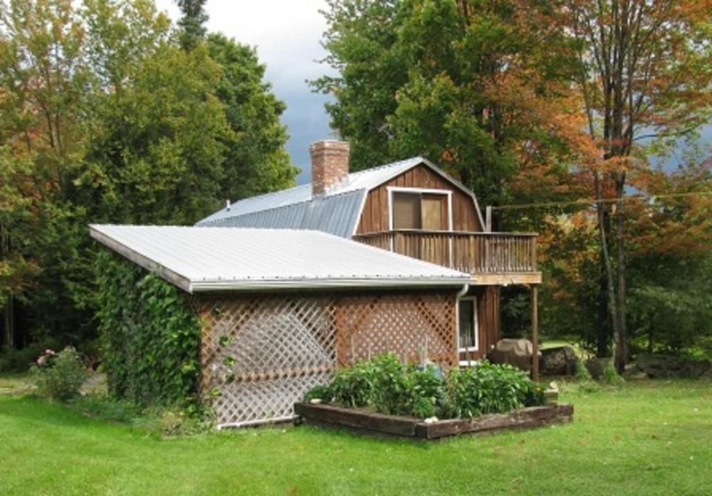 风景照片乡间小屋