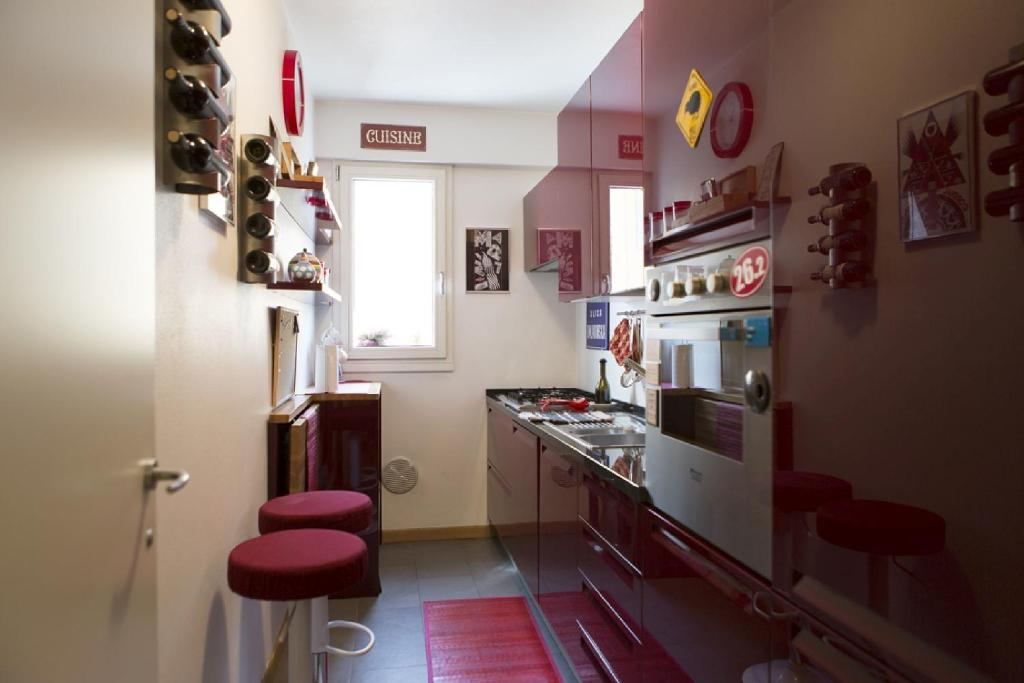 Fashion 6 apartment milan for Apartment fashion