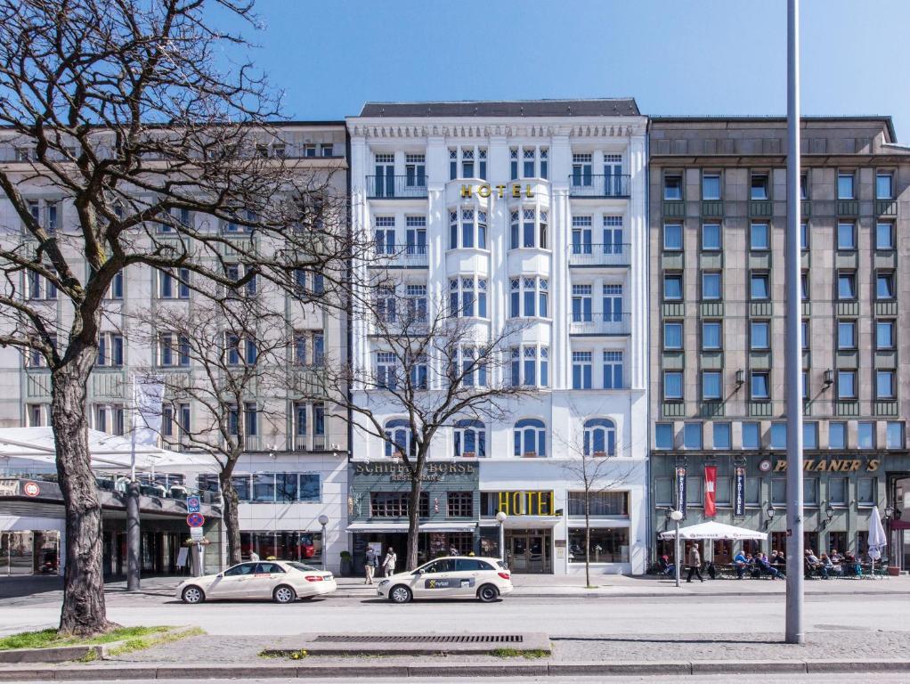 Novum Hotel Kronprinz Hamburg Kirchenallee