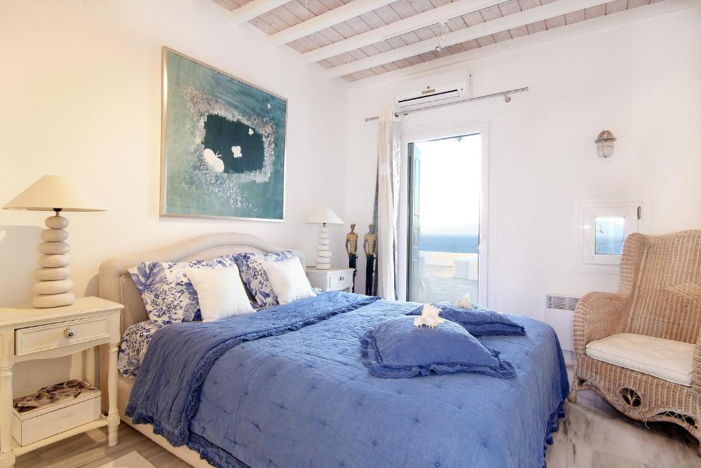 Villa opal in kanalia mykonos for Villas opal