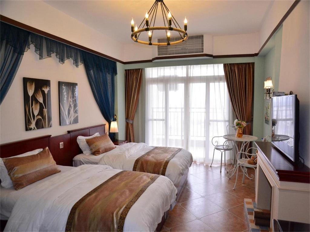东山岛海蓝蓝公寓酒店