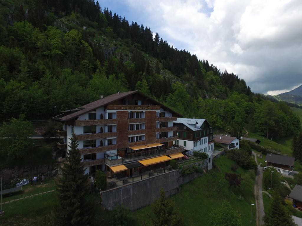 h 244 tel le grand chalet svizzera leysin booking