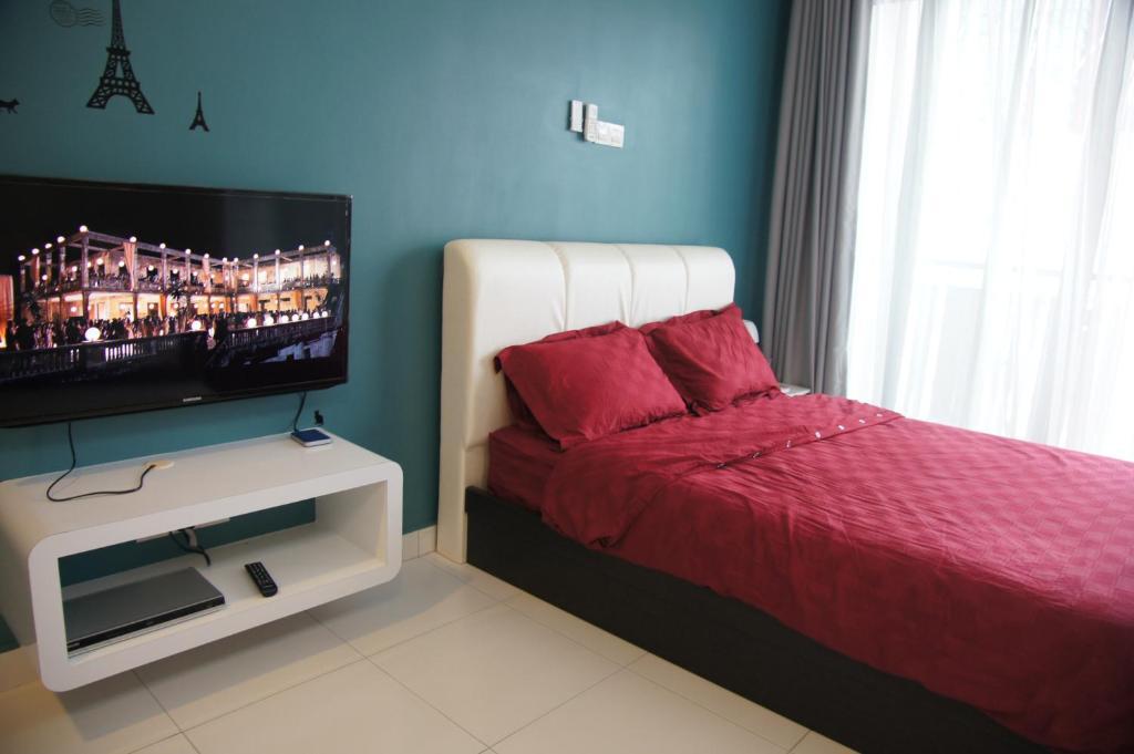 背景墙 房间 家居 酒店 设计 卧室 卧室装修 现代 装修 1024_680