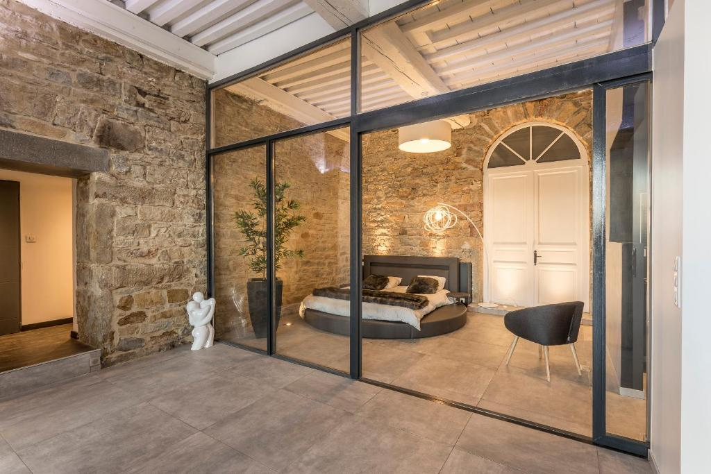 Le loft d 39 herbouville for Photo de loft renover