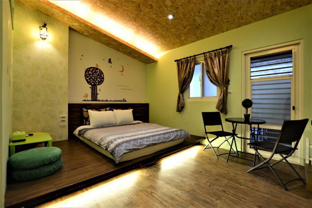 民宿看得见风景的房间