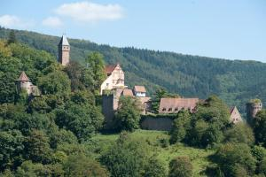 Hirschhorn castle hotel