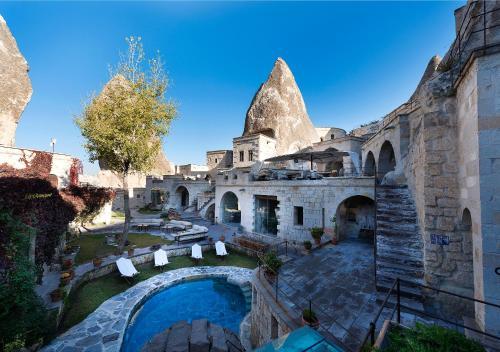 Göreme Anatolian Houses - Art Concept