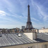 Private Apartment - Rue Cler - Eiffel Tower View