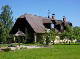 Hunting House Ezerkrasti, Lapmežciems