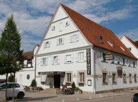Hotel Gasthof Krone, زوسمارهاوسن