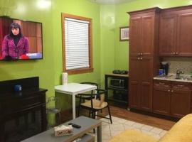 Cozy Studio 20 Min to NYC, ניוארק