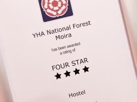 YHA国家森林旅舍, Moira
