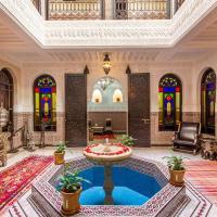 马拉喀什拉米亚摩洛哥传统庭院住宅